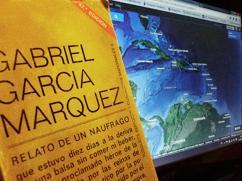 Relato de un Náufrago. Una entrevista de Gabriel García Márquez