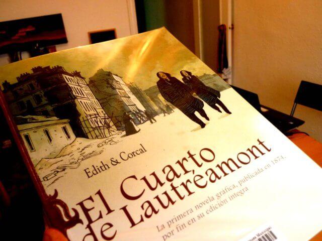 Cómic El cuarto de Lautréamont