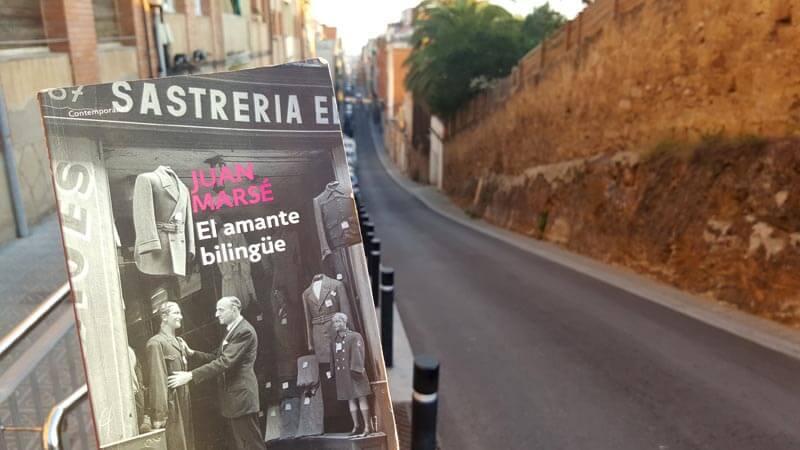 Novela El amante bilingüe de Juan Marsé