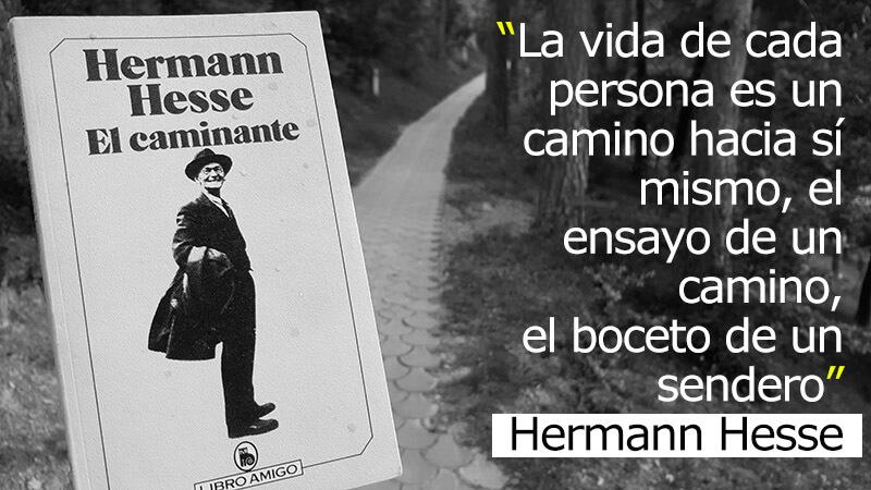 Un camino hacia sí mismo, frase de Hermann Hesse