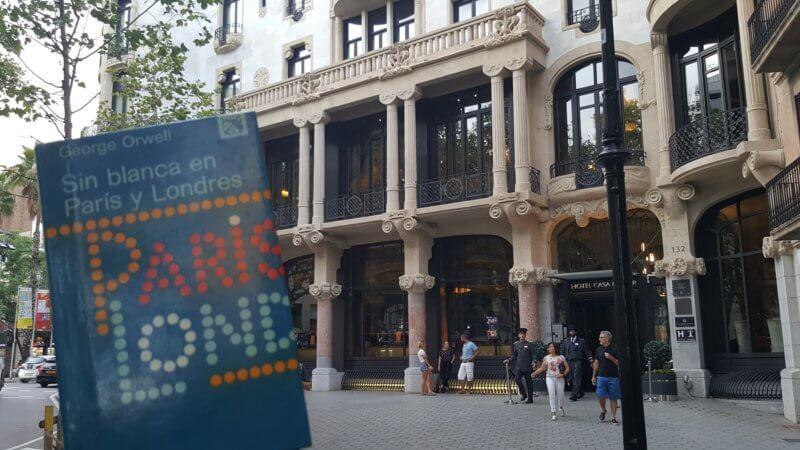 Sin blanca en París y Londres: la primera novela de Georges Orwell o su primera crítica social