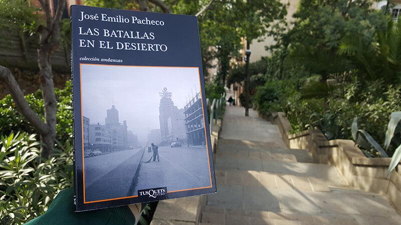 reseña - resumen - Las batallas en el desierto - José Emilio Pacheco