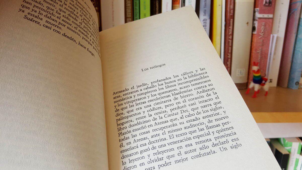 Análisis de Los teólogos, un cuento de Borges