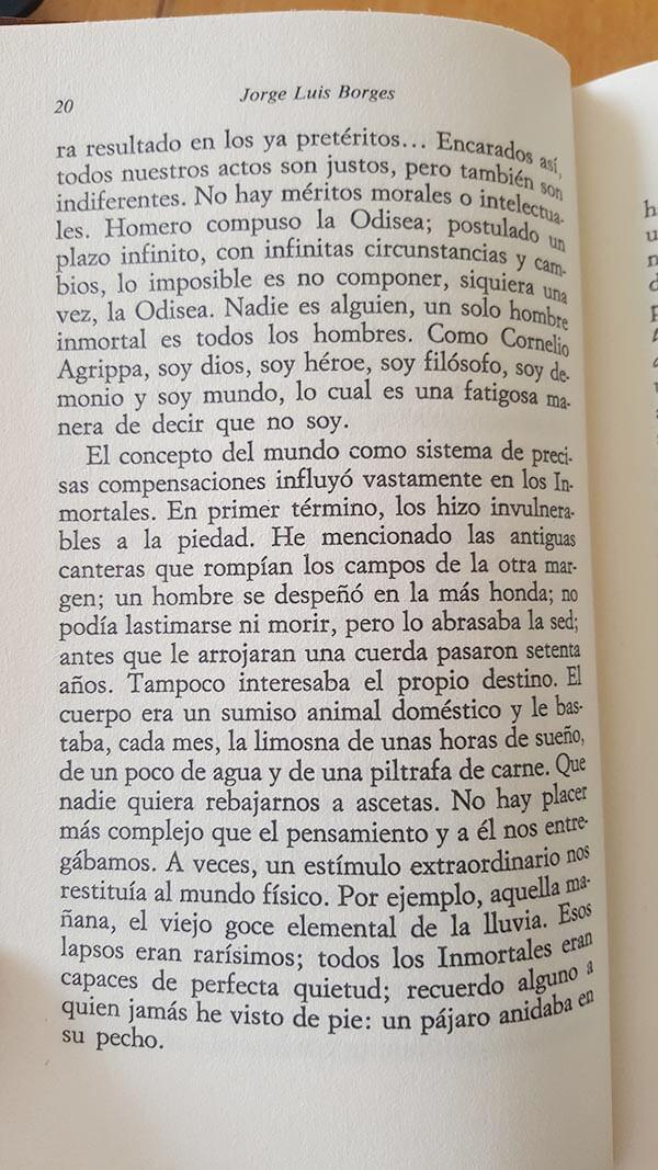 Fragmento del cuento El Inmortal de Borges