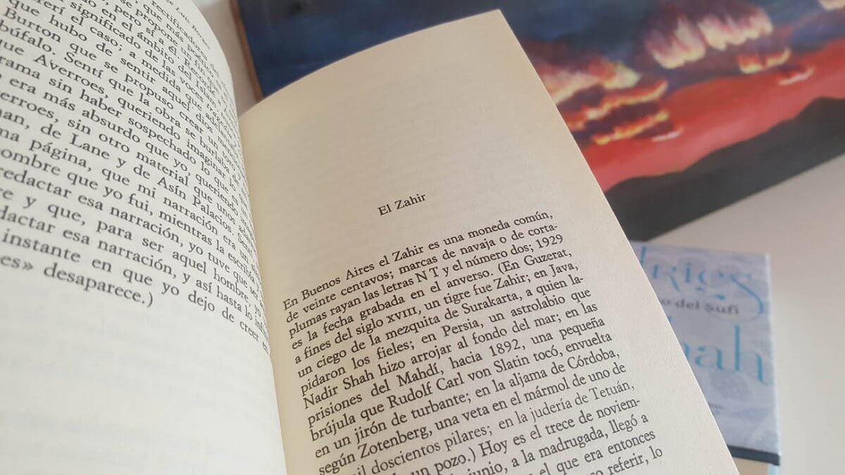 El Zahir de Borges: análisis, fijación y revelación