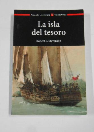 Libro La isla del tesoro - Robert Louis Stevenson. Editoria Vicens Vives
