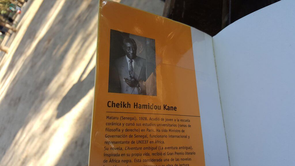 Sobre el escritor Cheikh Hamidou Kane