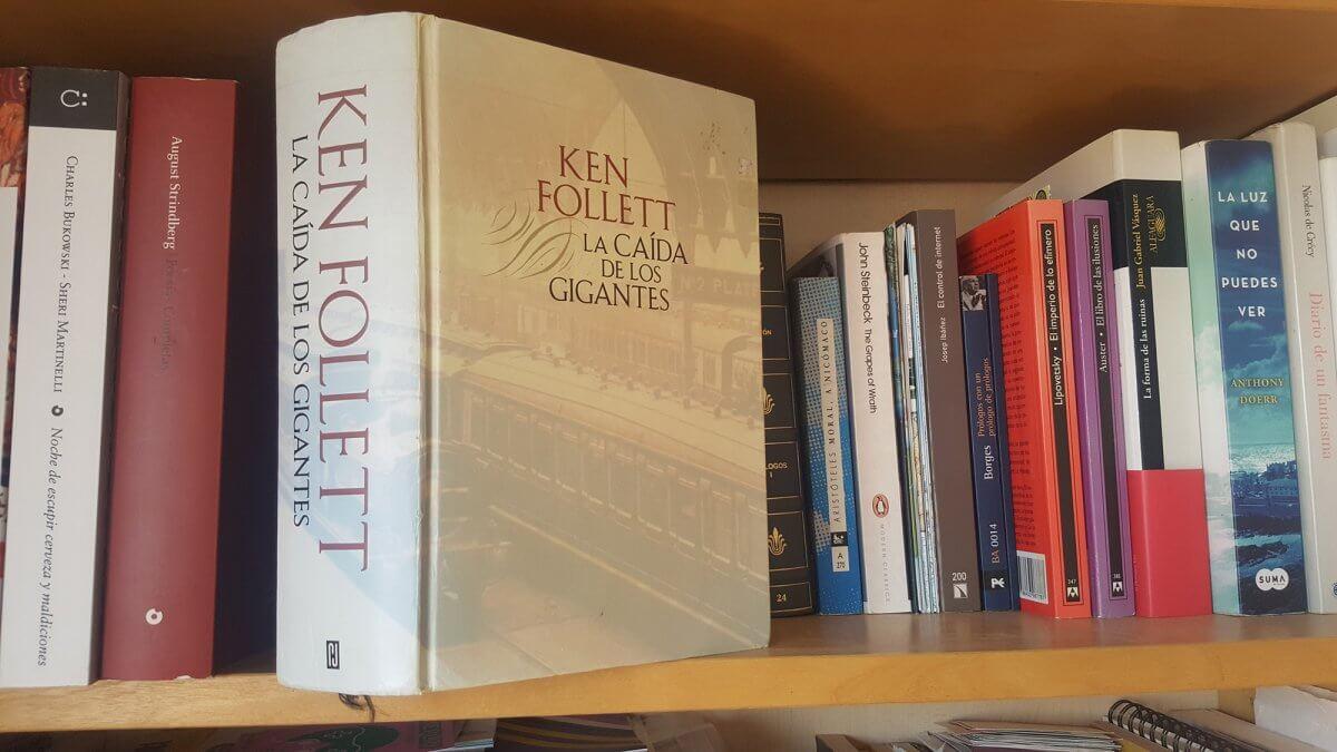 La caída de los gigantes de Ken Follett, reseña y comentarios