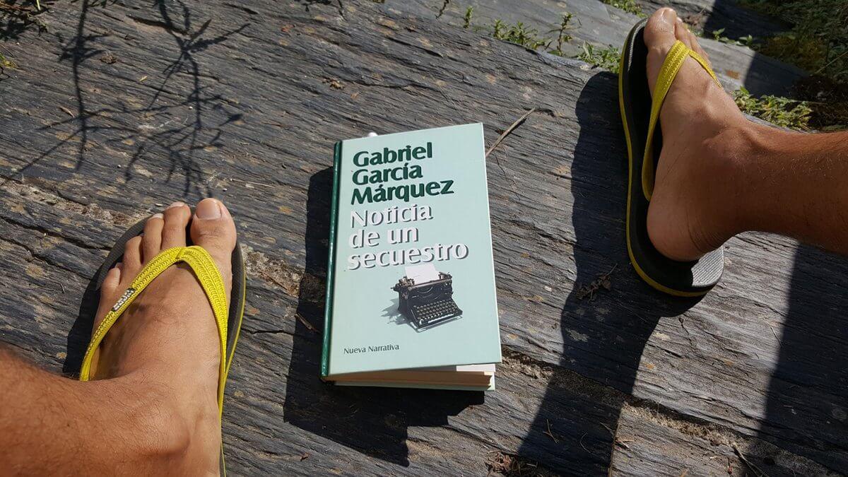 Cubierta del libro Noticia de un secuestro