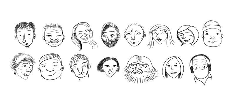 Individuos heterogeneos integrados en la multitud adquieren una pscología colectiva