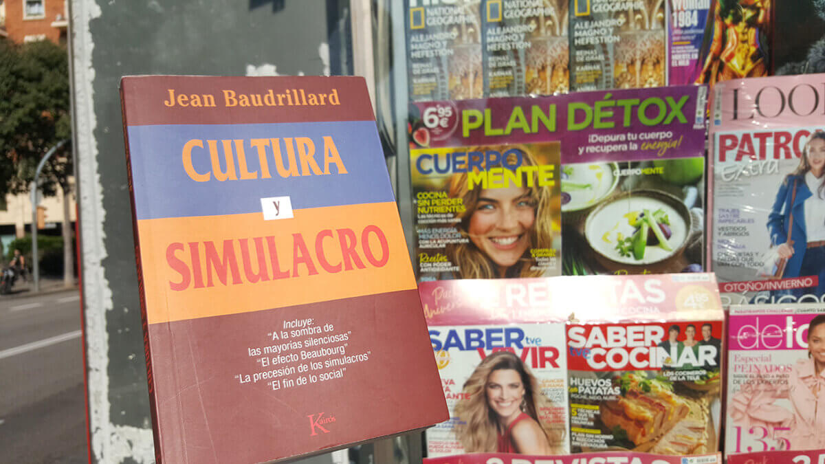 Foto del libro Cultura y Simulacro de Jean Baudrillard