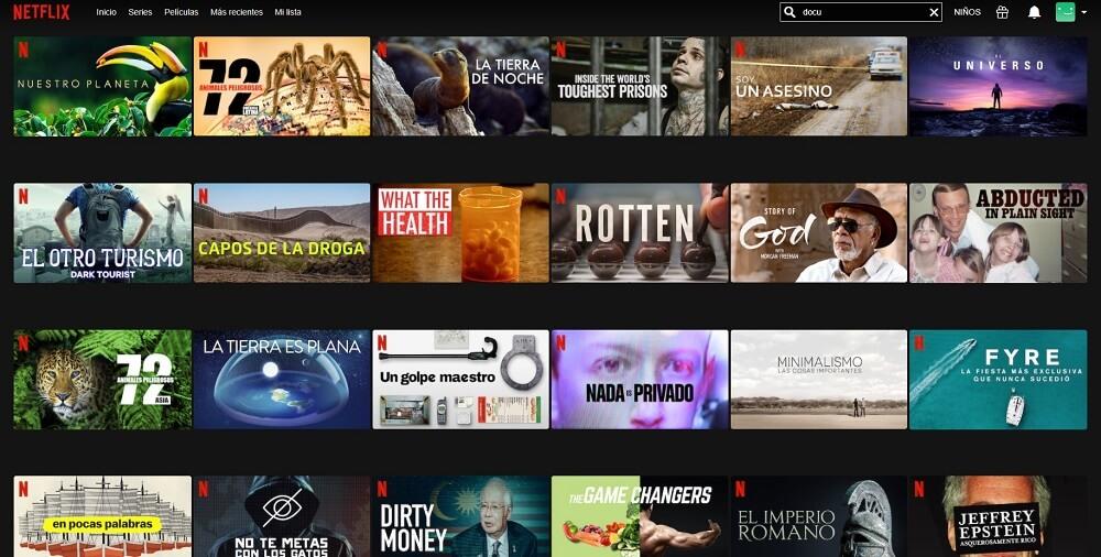 Documentales de Netflix, ficcionalidad y simulacro